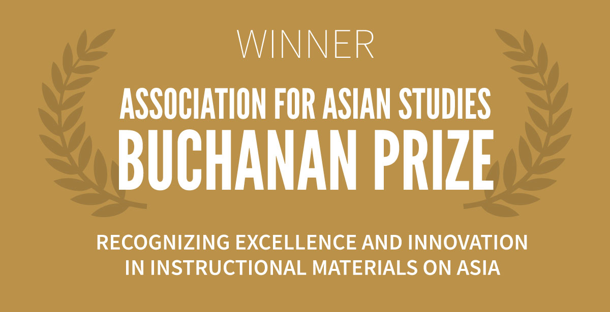 Winner of the Association of Asian Studies' Buchanan Prize