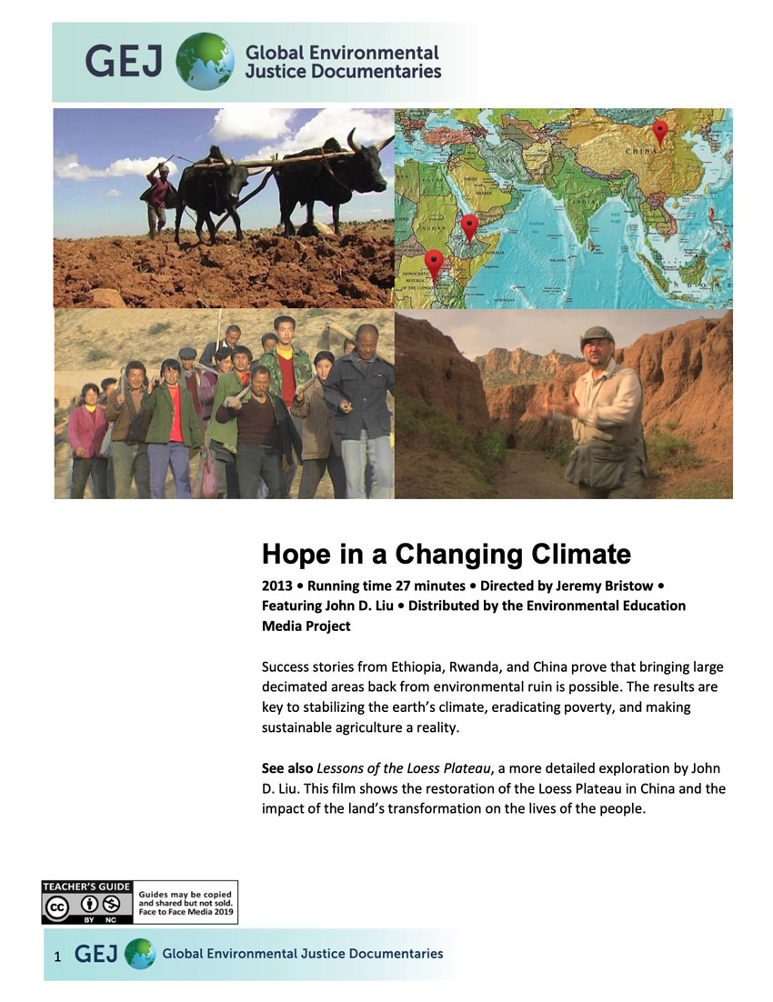 Hope in a Changing Climate